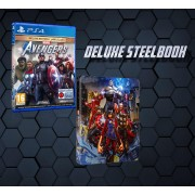 Marvel's Avengers - Deluxe - Steelbook (PS4)