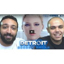 انطباعنا عن لعبة ديترويت نحو الإنسانية الجديدة بالعربي - Detroit become human first impression